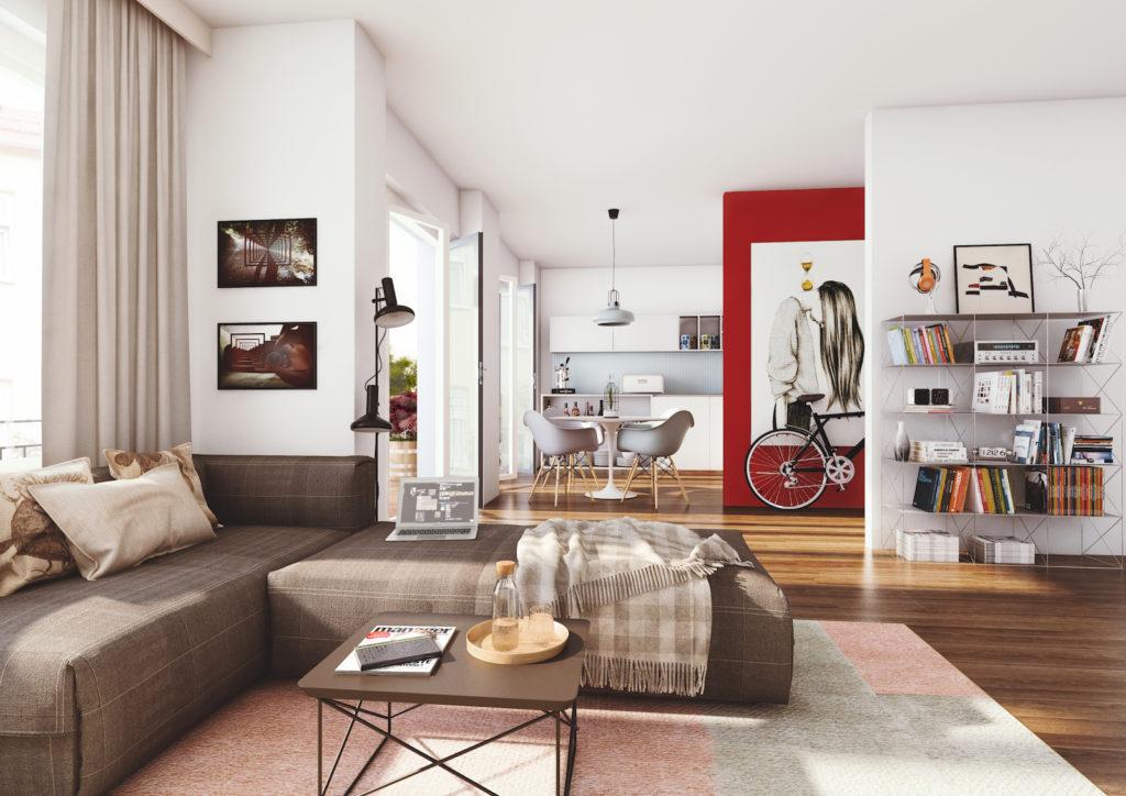Luipold Innenansicht Wohnzimmer