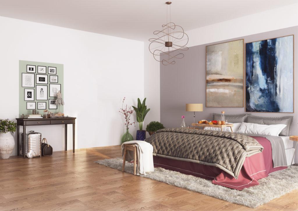 Luipold Innenansicht Schlafzimmer