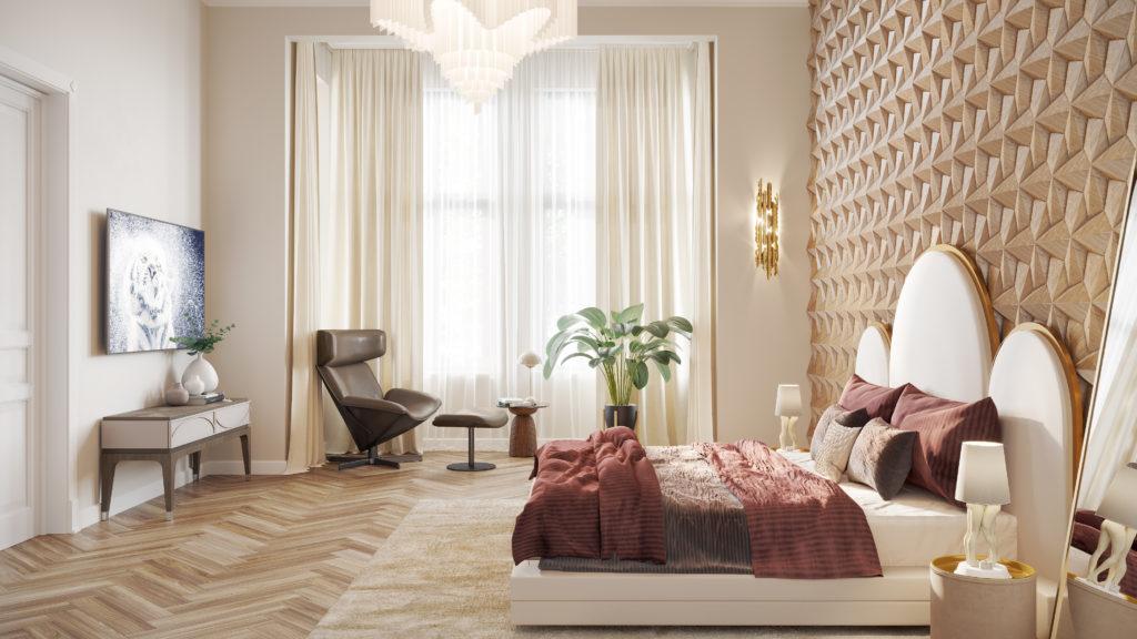 Schlafzimmer 2-Zimmer Whg