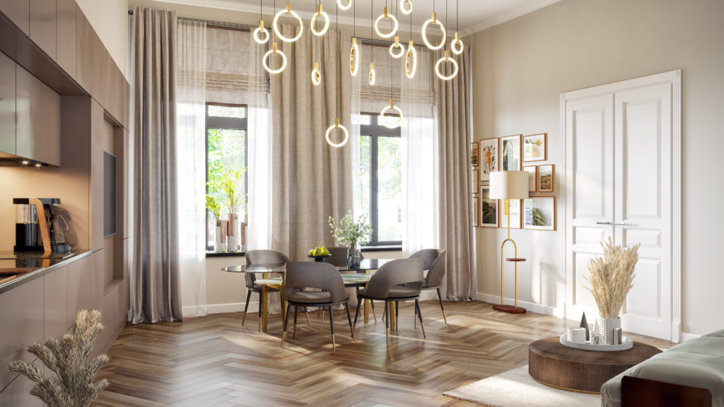 Wohnküche 2-Zimmer Whg